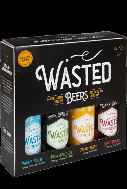 Giftbox met vier bieren