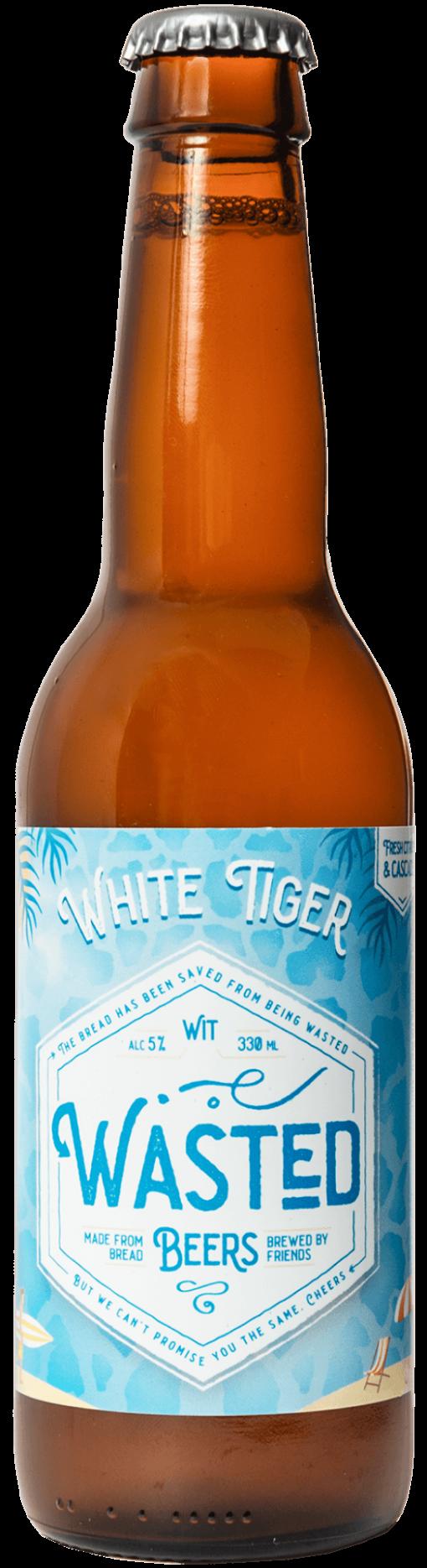 White Tiger Flesje
